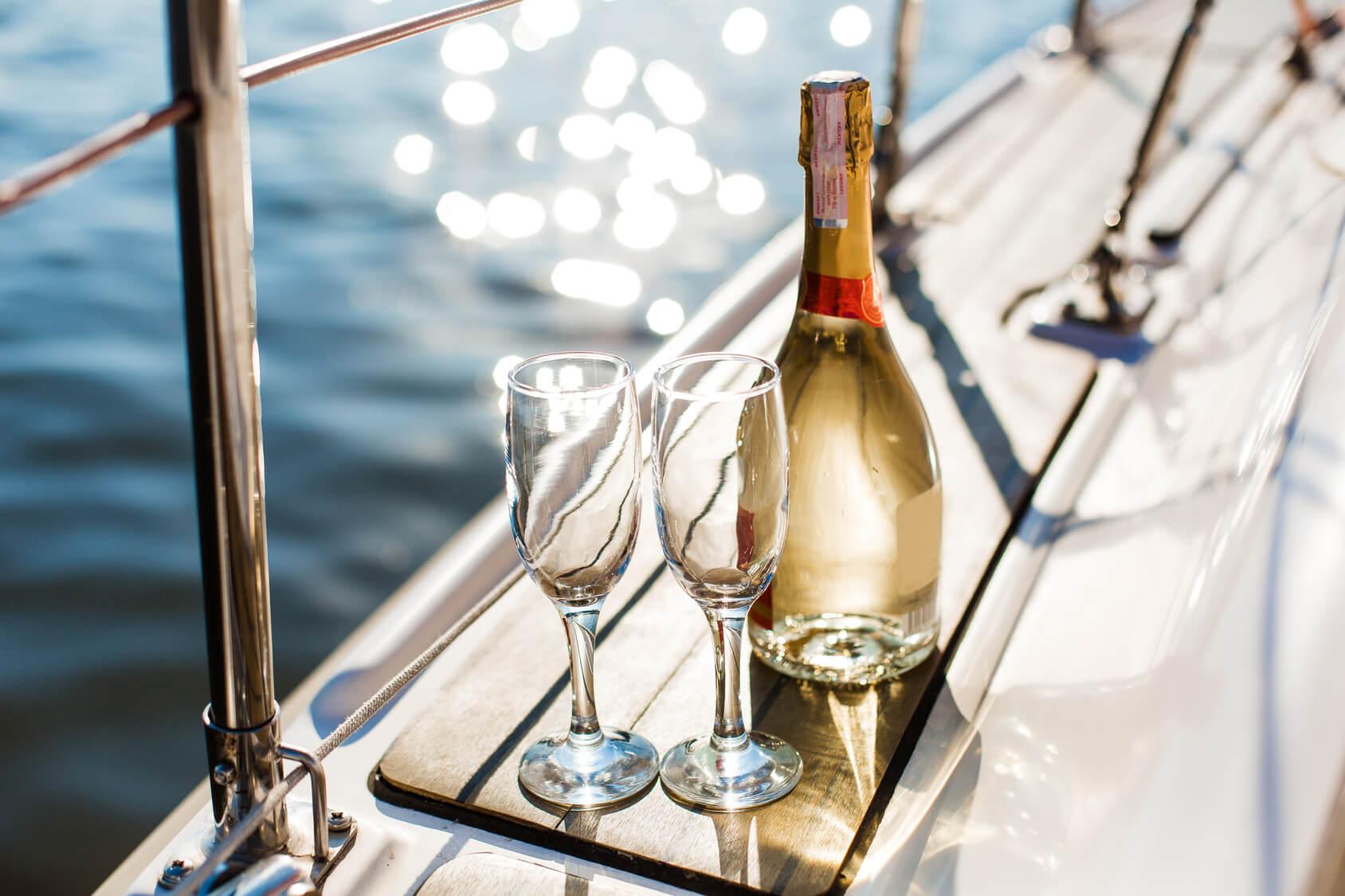 船上パーティー