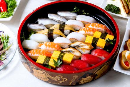 握り寿司盛り込み